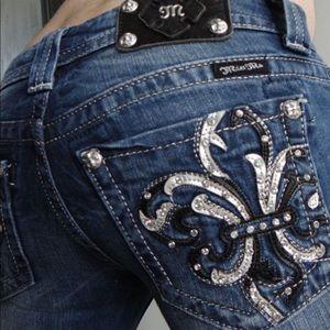 Miss me jeans boot cut jeans women's size 27